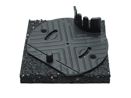 Solidor ruber pad RC19 for decking