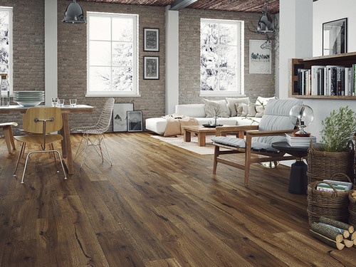 Oak Barlinek Porto Grande 1 strip plank, oiled