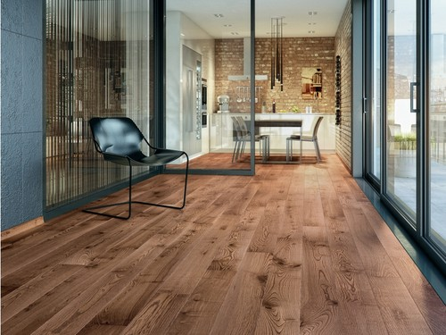Ash Hazelnut Grande, Barlinek wooden flooring
