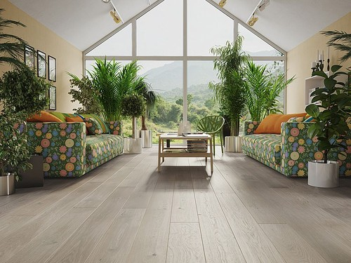 Oak Marzpan Muffin Grande, Barlinek wooden flooring