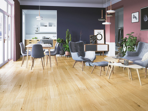 Oak Mersey Medio, Barlinek wooden flooring