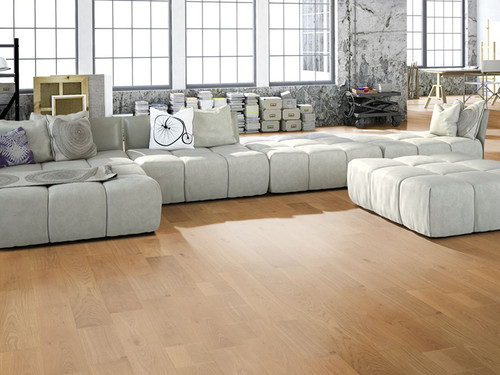 Oak solid board flooring Gunreben