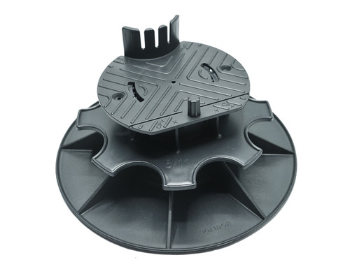 Adjustable pedestals 9-13 cm for decking