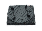 Rubber pad 194 mm for tiles