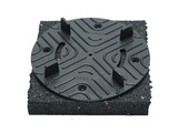 Rubber pad 24 mm for tiles