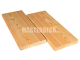 Siberian larch wooden decking 24x143mm