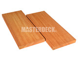 Garapa wooden decking 21x145mm