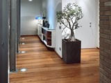 Teak Victoria, 1 strip plank, UV oiled